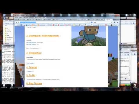Shaders et minecraft 1.5.2 : installation facile avec pipix