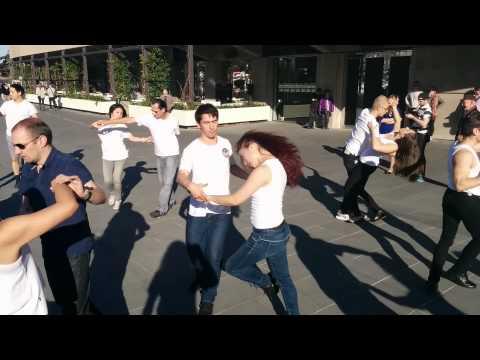 Melbourne Zouk Flash Mob 2014 at Southgate