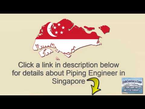 Piping Engineer in Singapore