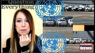 Man Investigates United Nations Vehicles In Hagerstown Maryland, Here's What He Found…