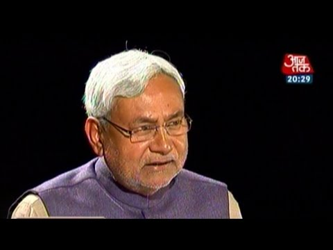 Seedhi Baat with former Bihar CM Nitish Kumar