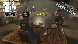 GTA 5 Online PC | NEW DLC: FIRST LOOK | YESMEN MC (BIKERS DLC)