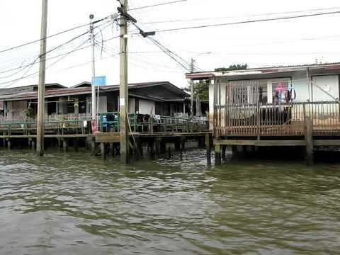 Bangkok Canal Tour 2012