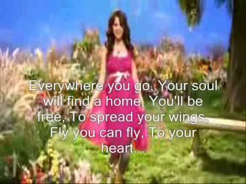 Fly To Your Heart - Selena Gomez (full + Lyrics) video