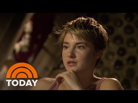 Shailene Woodley & Theo James On Set of 'Insurgent' | TODAY