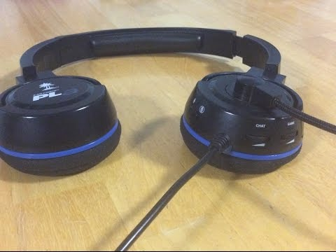Turtle Beach Pla Model 1 Review and how to set up to your PS4