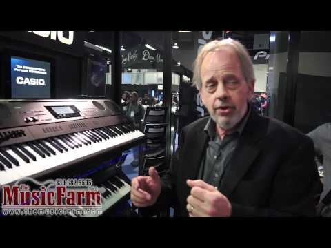Winter NAMM '12 - Casio WK7500 Digital Workstation Keyboard Piano