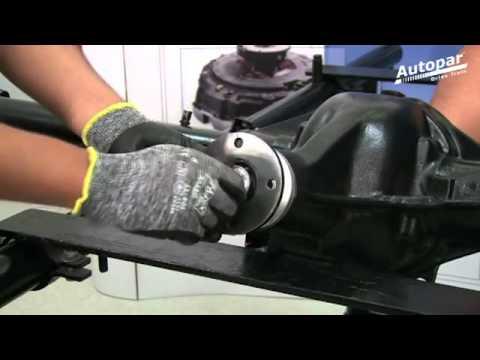 Ajuste Eje Diferencial Nissan URVAN - Instalación de Corona y Piñón