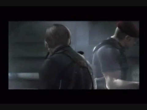 Leon S Kennedy Vs Krauser