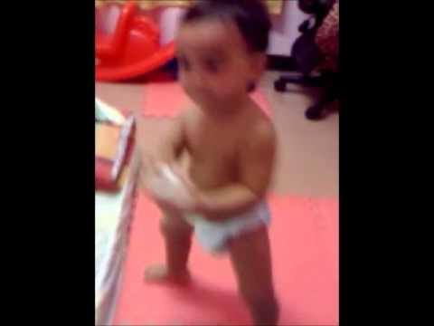 Dancing Baby in diaper