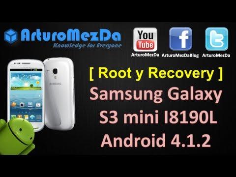Como Rootear e Instalar Recovery en  Samsung Galaxy S3 mini I8190L 4.1.2