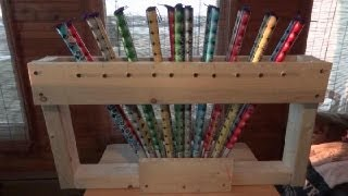 How To Build A Roman Candle Rack