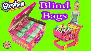 Case Full of Season 5 Shopkins Surprise Petkins Blind Bags with Queen Elsa - Cookieswirlc