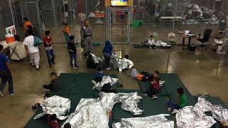 Inside look at Border Patrol facility in McAllen, Texas