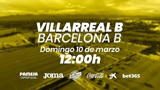 Villarreal B vs Barcelona B