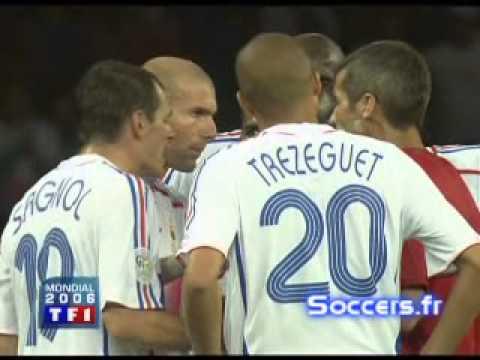 Легендарный удар головой. Zidan vs Materaci
