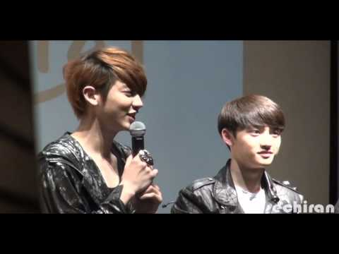 [FAMCAM] 120429 - fansigning D.O. focused
