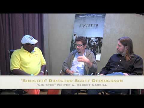 Sinister's director Scott Derrickson and writer C. Robert Cargill talk with Al McGhee