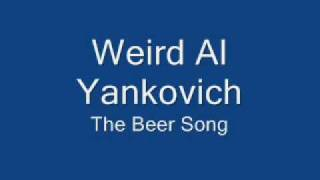 Watch Weird Al Yankovic Beer Song video