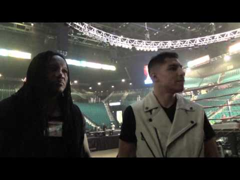 behind the scenes at the mgm before pacquiao bradley 3 EsNews Boxing