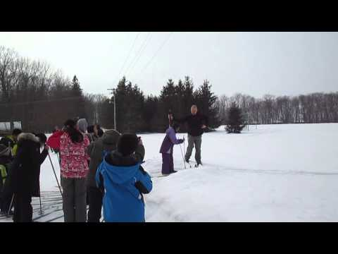 Clearview School 2014 March Break Overnight Camp--Cross Country Skiing