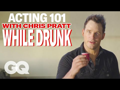 Chris Pratt's Drunk Acting Lessons