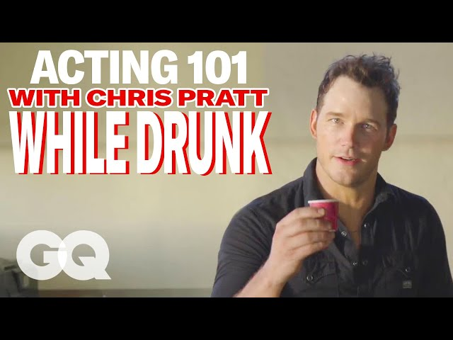 Chris Pratt's Drunk Acting Lessons | GQ Cover Star June 2015