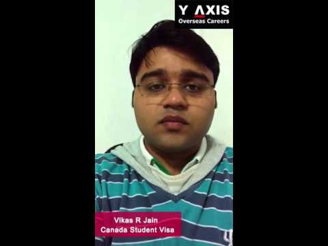 Y-Axis Reviews | Vikas R Jain Testimonials For Canada Immigration Services