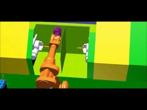 Taşıma Robotu Simülasyonu 11