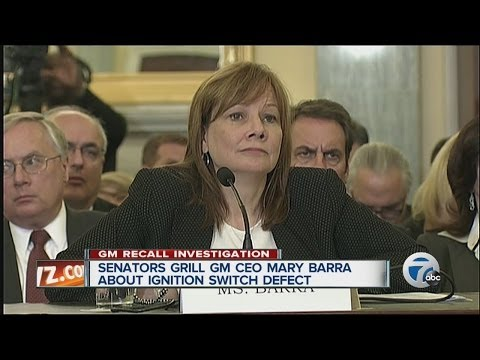 Senators grill GM CEO Mary Barra about ignition switch defect
