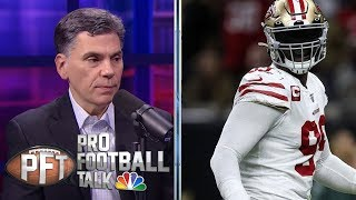 Should San Francisco 49ers, Saints be concerned on defense? | Pro Football Talk | NBC Sports