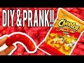 DIY Hot Cheetos Puff & PRANK!!