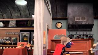 Sesame Street - Super Grover 2.0: Rodent Restaurant + SFX with Murray
