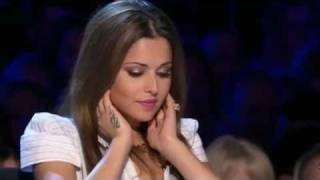 Cheryl Cole Farts on The X Factor