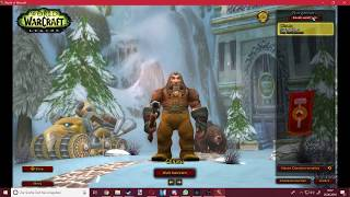 ESHKOVA RETURNS TO (official) WORLD OF WARCRAFT!