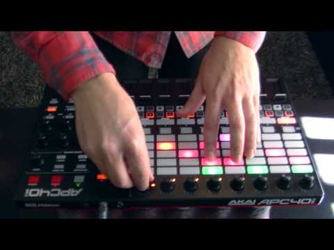 Dave Winnel - Minimix 2014 (Live APC40 MK2)+ DJ template