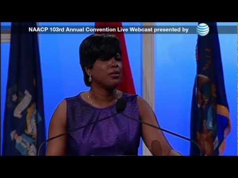 Chairman Roslyn M. Brock Keynote at 103rd NAACP Convention