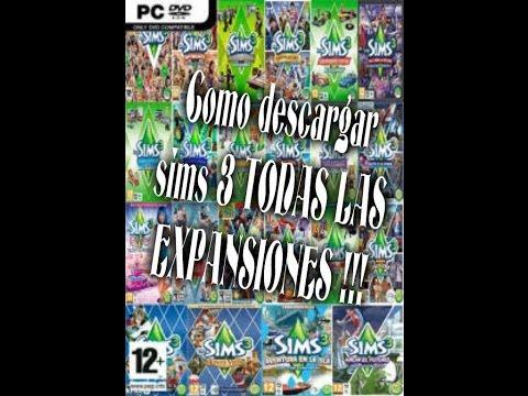 Como descargar Sims 3 con Todas las expansiones Español  (MENOS EL ACCESORIO DEL CINE)