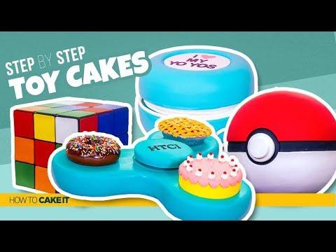 4 Awesome Toy CAKES | Toys As CAKE | How To Cake It | Yolanda Gampp