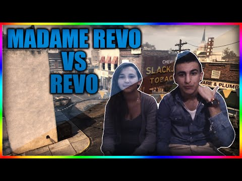Révo Vs Madame Révo - 1 Vs 1 sur Call Of Duty Ghosts !!