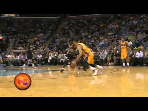Austin Rivers Breaks Mike Conley's Ankles