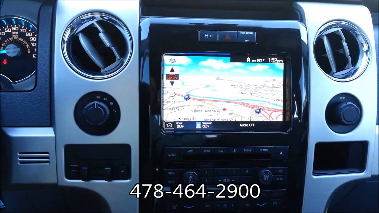 Riverside Ford Macon Ga >> 2012 Ford F-150 Platinum 4x4 #B1743 at Riverside Ford Lincoln in Macon, GA - YouTube