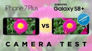 Samsung Galaxy S8 Plus vs iPhone 7 Plus Camera Test Comparison
