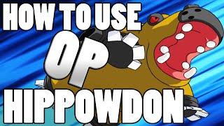 Pokémon How To Use: Hippowdon OP! Hippowdon Moveset - Pokemon Omega Ruby and Alpha Sapphire / X&Y