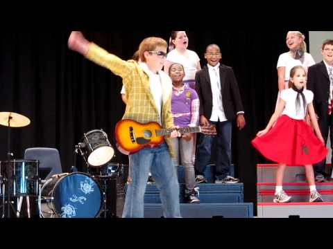 Nick is Elvis (4th Grade Chorus).MOV
