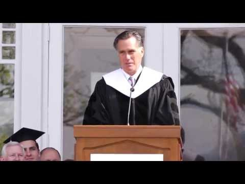 "Mitt Romney: ""Launch Out Into The Deep"" - Southern Virginia University - Commencement 2013"