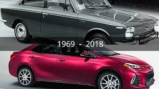 Toyota Corolla Evolution (1969 - 2018)