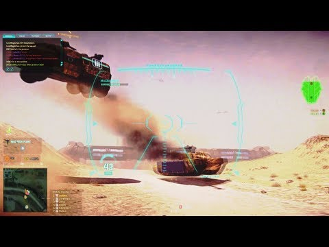 Planetside 2: Leoben's Flying Bangbus video
