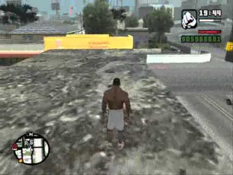 GTA San Andreas part 3 parkour CLEO mod