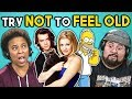 Adults React To Try Not To Feel Old Challenge